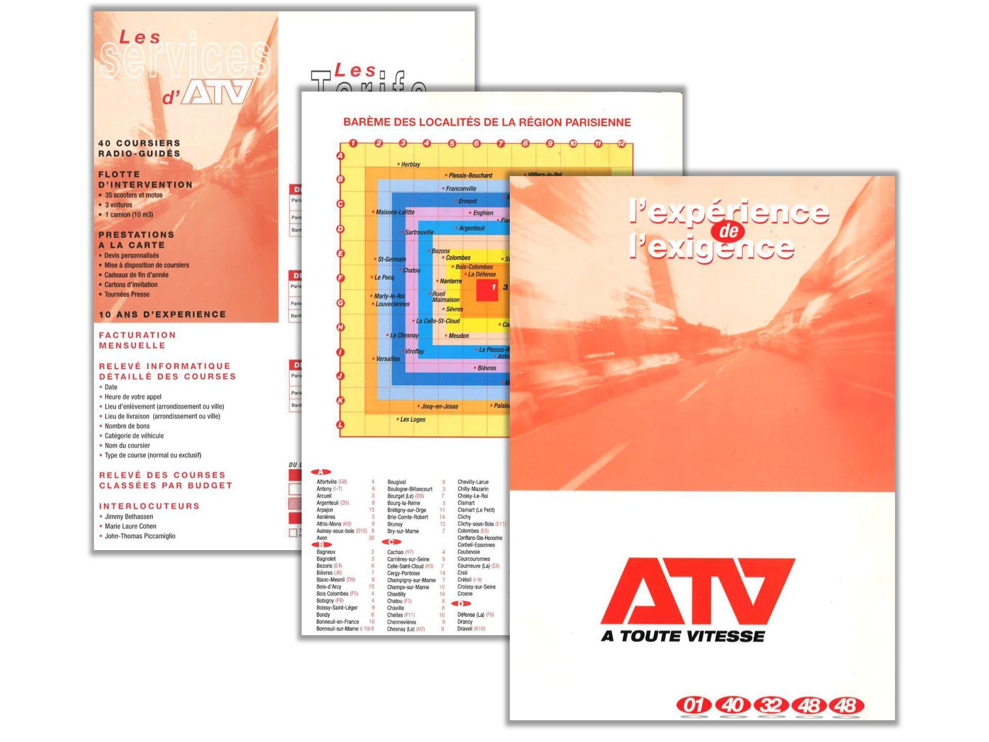 Plaquette ATV - 2001
