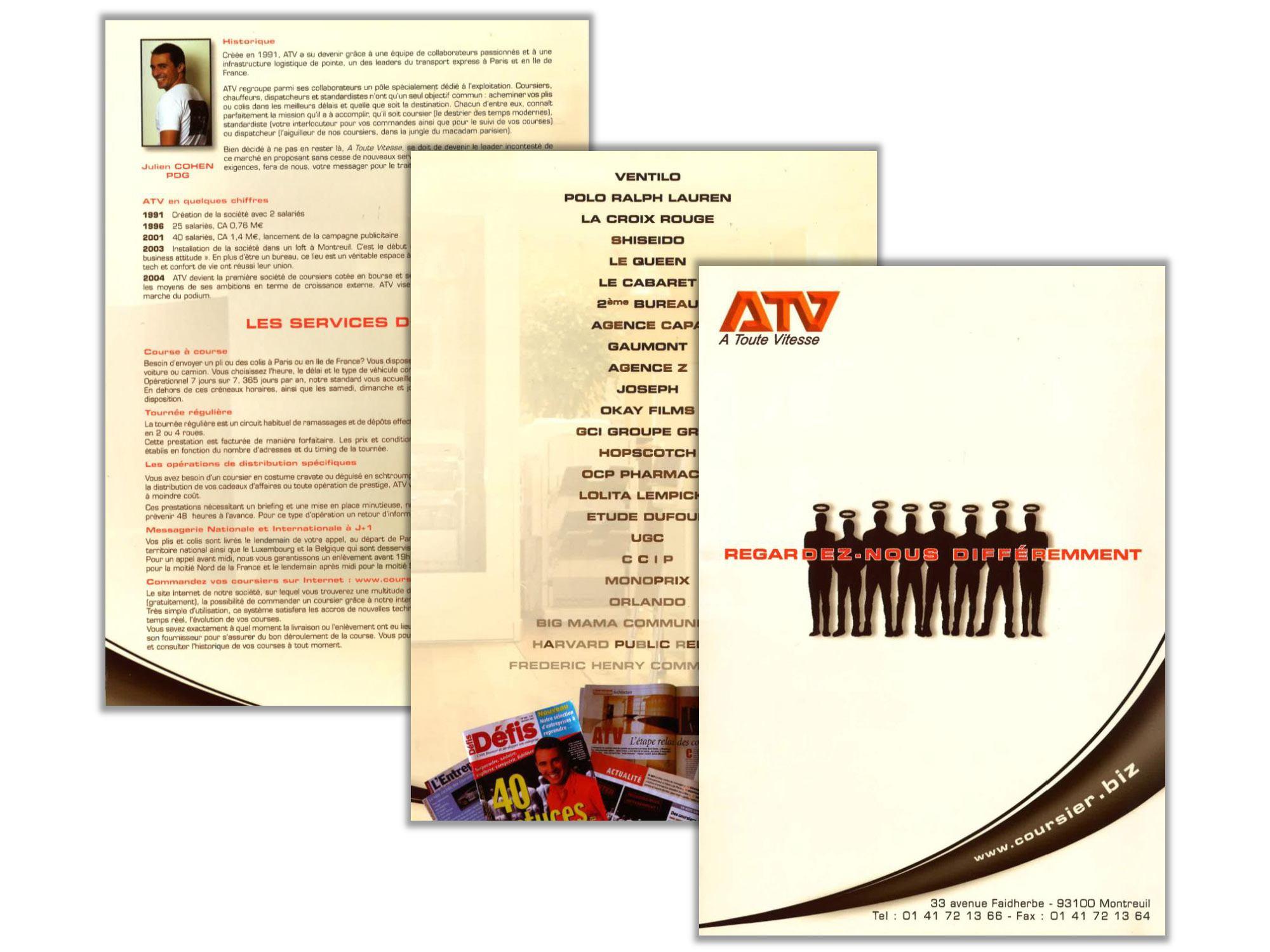 Plaquette ATV - 2005